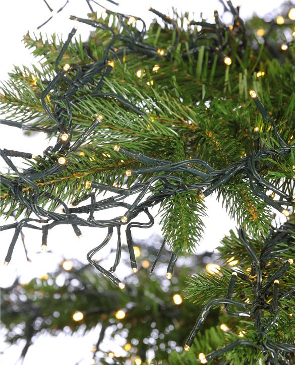 cluster light christmas trees